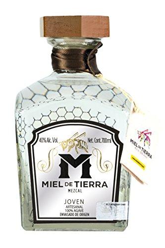 Mezcal Miel DE TIERRA Joven, 100% Agave, 40% vol (1 x 0.7 l)