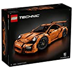 Experience the iconic Porsche 911 GT3 RS with this authentic Lego technic replica. Inside the box you'll discover a special collector's book chronicling the history of Lego technic and Porsche GT cars, together with 4 original design rims bearing the...