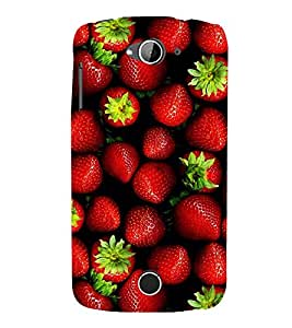 A2ZXSERIES Strawberry Fruits Back Case Cover for Acer Liquid Z530S / Acer Liquid Z530