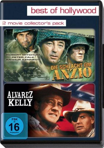 Best of Hollywood - 2 Movie Collector\'s Pack: Die Schlacht um Anzio / Alvarez Kelly [2 DVDs]