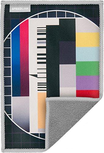 Speedlink Hochwertiges Mikrofasertuch - SILK Cleaning Cloth Screen (schonende Reinigung von Gehäuse und Display - trockene und feuchte Anwendung - langlebiges, wiederverwendbares Material) Tablet-PCs / Pads Smartphones