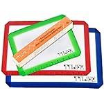 TTLIFE 3pcs Baking mat Silicone Bakin...