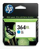 HP 364XL cartouche d'encre cyan grande capacité authentique pour HP DeskJet 3070A et...