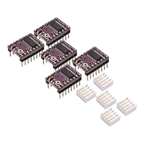 XCSOURCE StepStick 4 strati PCB DRV8825 driver del motore passo Modulo con dissipatore per RepRap 3D sostituzione della stampante A4988 TE562 - Modulo Di Controllo Del Motore