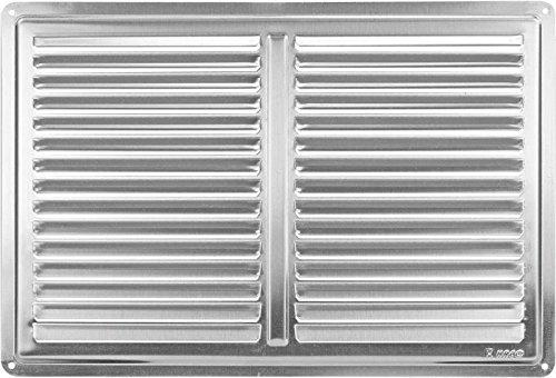 griglia di ventilazione in acciaio inox coperchio coperchio 300x200 della griglia di ventilazione