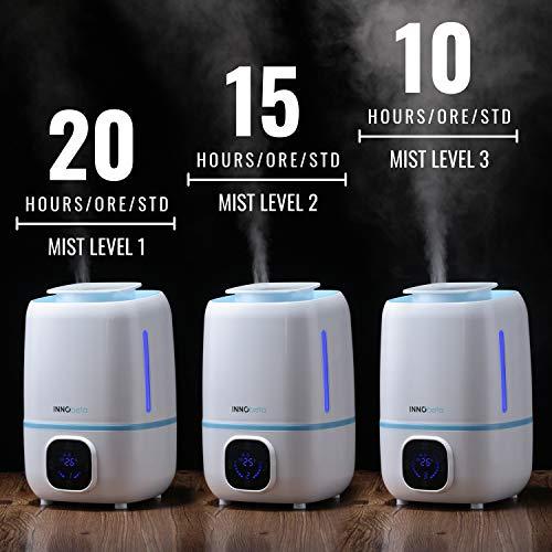 InnoBeta Fountain Humidificador Ultrasónica 3,0Litro...