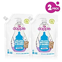 Dapple Baby Bottle and Dish Liquid - Lavender - 34 oz - 2 pk
