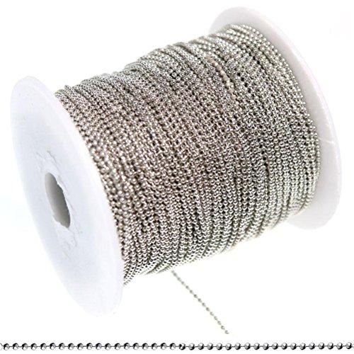 catena-maglie-a-sfera-in-ottone-3-metri-di-colore-argento-dimensioni-15-mm