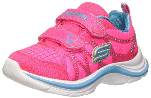 Skechers (SKEES) Mädchen Swift Kicks-Lil Glammer Funktionsschuh, Mehrfarbig (Nptq), 26 (Lil Schuhe Kinder)