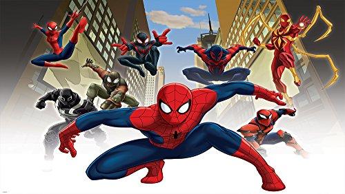 disney-licenza-1274p8-marvel-spiderman-decorazione-della-parete-della-stanza-dei-bambini-multi-3680-