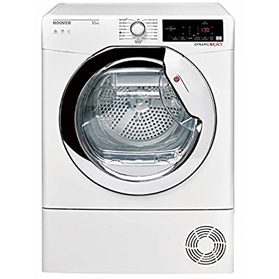 Hoover DXC10TCE-80 10kg CondenserTumble Dryer in White from Hoover