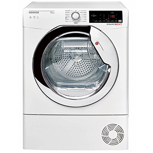 Hoover DXC10TCE-80 10kg CondenserTumble Dryer in White