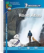 Michelin Straßenatlas Nordamerika mit Spiralbindung: Maßstaab 1:590.000-1:8.500.000 (MICHELIN Atlanten) hier kaufen