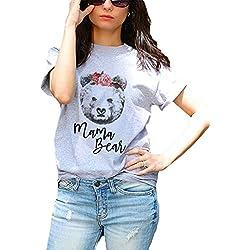 hellomiko Parenting Pack Family Matching Clothing Gifts Serie de Dibujos Animados Lazos Osos para Mamá Daddy Kids Baby Games Camisetas
