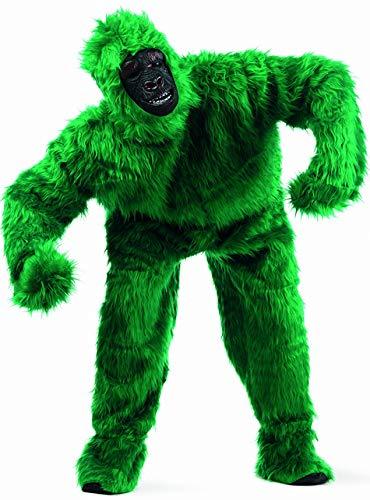 Limit Sport - Disfraz de peluche gorila para adultos, color verde, talla L (MA067V)