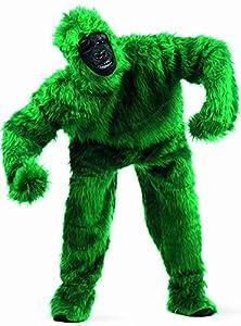 Limit Sport - Disfraz de peluche gorila para adultos, color verde, talla M (MA067V)