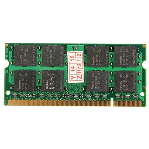 1 GB DDR2-533 PC2-4200 Nicht-ECC 200pins Laptop-Speicher RAM (4200 Ecc Speicher)