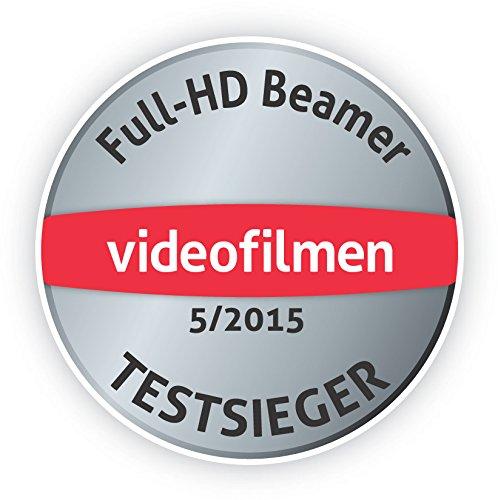 Bild 68: Epson EH-TW6100 3D Heimkino 3LCD-Projektor (Full HD 1080p, 2.300 Lumen Weiß & Farbhelligkeit, 40.000:1 Kontrast, 2x HDMI (1x MHL), inkl. 1x 3D Brille) schwarz