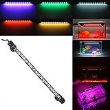 Etelux LED Aquarium Licht Aquarium Beleuchtung für Salzwasser und Süßwasser Lampe Unterwasser Tauchlampen Lampen Röhren 5050 SMD Farbe (18LED&Blau)