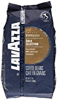 Lavazza Coffee Espresso Gold Selection, whole Beans, 1000g