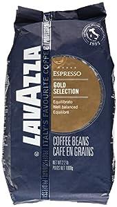 Lavazza Coffee Espresso Gold Selection, whole Beans, 1000g
