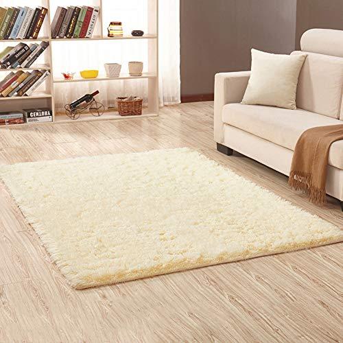 Alfombras de sala de estar modernas súper suaves Alfombras de pelo largo Alfombras de área mullidas...