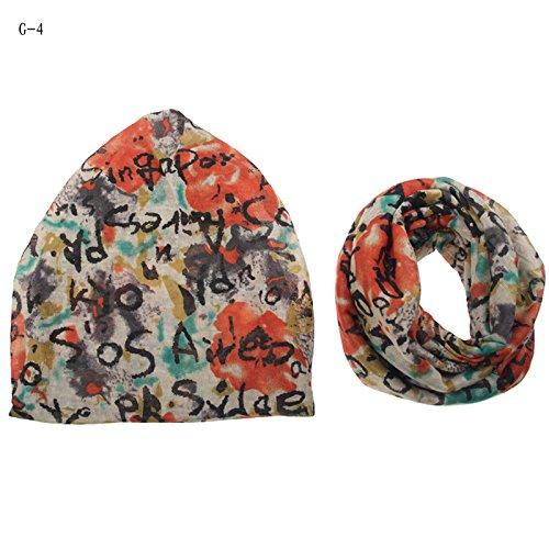 Mme chapeaux automne et hiver cor¨¦e femme t¨ºte kit du pieu,turban Cap Chapeau hiver chapeau Baotou enfants cor¨¦ens,faible),G-5 The G-4