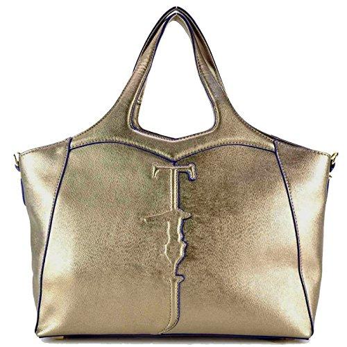 trussardi-jeans-75b180-handbag-women-oro-tu