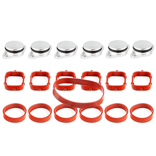 Price comparison product image TAKPART 6 x 33 mm Swirl Flap Replacements Removal Blanks Manifold Gaskets