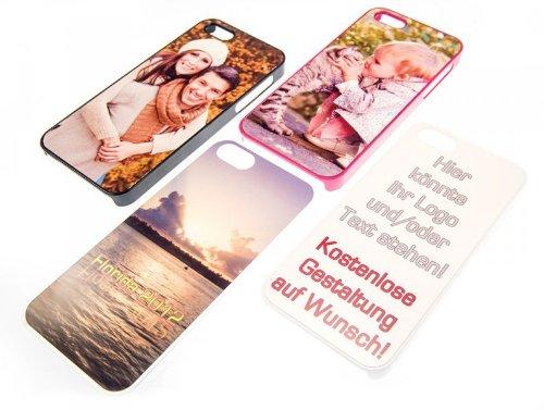 Personalisierte Fotohülle für Apple iPhone 5 / 5S / SE * individualisiertes Cover * eigenes Foto * viele Farben (Iphone 5 Foto)