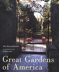 Great Gardens of America by Tim Richardson (2009-09-22)