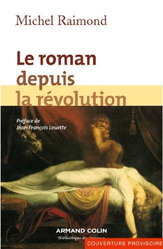Le roman depuis la rvolution (Hors collection)