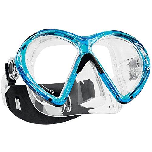 Scubapro Tauchmaske Vibe 2 (Farbe: transparent-aqua) (Scubapro-ausrüstung)