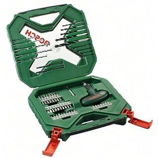 Bosch 54tlg. X-Line Zubehör Set (für Metall, Stein, Holz, Zubehör für Elektrowerkzeuge)