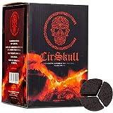 CirSkull Charbon Chicha Naturel Supérieur 1 kg Compatible système de Chauffe Type...
