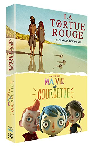 coffret : MA VIE DE COURGETTE + LA TORTUE ROUGE
