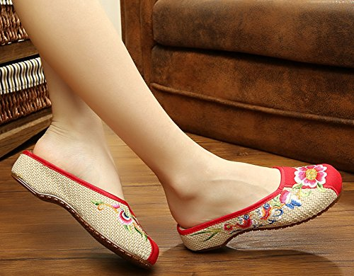 ICEGREY women Florl Love Bird Clogs Mules