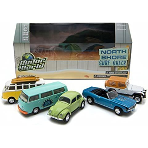 Motor World Diorama North Shore Surf Shack