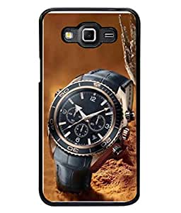 PrintVisa Designer Back Case Cover for Samsung Galaxy Grand 3 :: Samsung Galaxy Grand Max G720F (Modern Timer Style Business Man Accuracy)