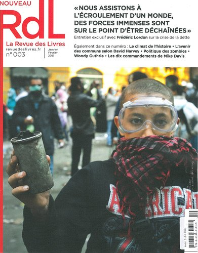 La revue des livres, N° 3, janvier-févrie : par Jérôme Vidal
