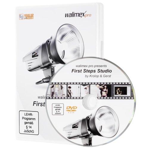 Walimex Pro First Steps Studio Schulungs-DVD (Studiofotografie-ausrüstung)