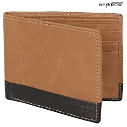 SPAIROW Tan Mens Wallet