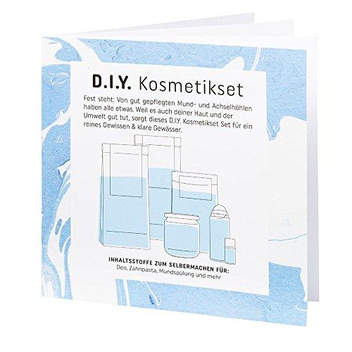 D.I.Y. Kosmetik-Set zum Selbermachen von Zahnpasta, Mundspülung und Deo - 3