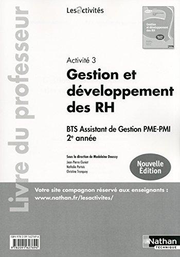 Gestion et développement des RH