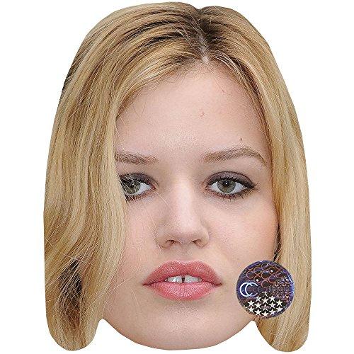 Celebrity Cutouts Georgia May Jagger Maske aus Karton
