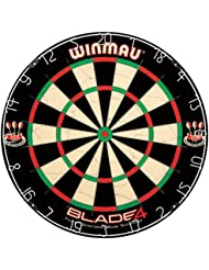 Winmau Blade 4 - Diana ( 4 hojas ), color negro