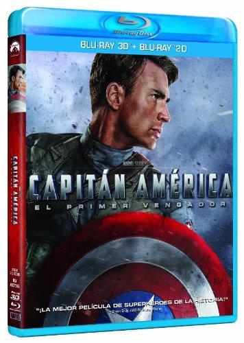 Capitán América: El Primer Vengador (Blu-ray 3D+2D) [Blu-ray] 51liCL1Tg 2BL