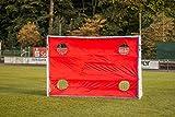 POWERSHOT® Torwand Fußball - Handball - verschiedene Größen - 4 Schusslöcher - Reisfest (Torwand 3 x 2m)