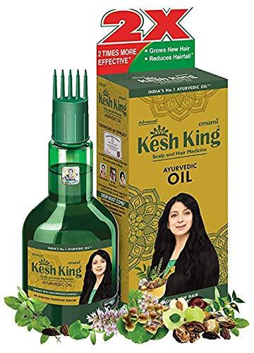 Kesh King Herbes Ayurvédique Huile Pour Cheveux Pour Pousse Des Cheveux 100 Ml