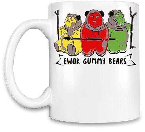 Ewok Gummy Bears Kaffee Becher